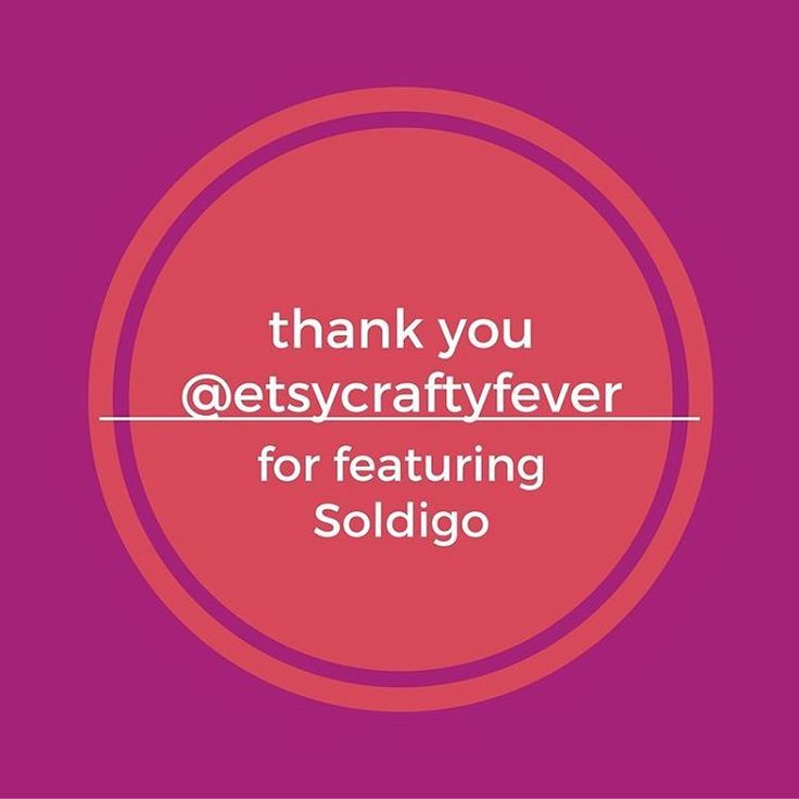 Thank you @etsycraftyfever for the amazing feature!  Make sure you read their blog post here: http://craftyfever.com/soldigo-store-creator/ #etsycraftyfever #craftyfever #sellonlinewithsoldigo #sellwithlove