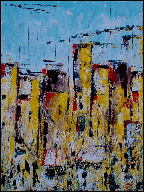 Abstract city #4