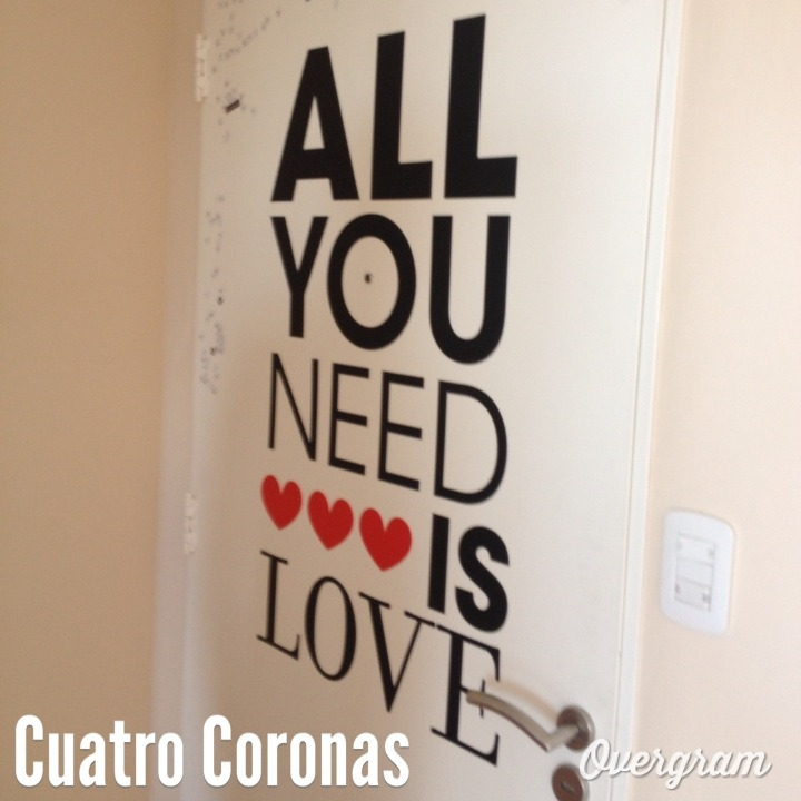 #AllYouNeedIsLove at our #Office #Decals #Beatles #Love
