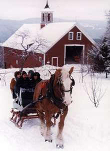 sleigh ride... almost did this several times in Syracuse, but never ended up doing it.  Much less opportunity for this living in south Louisiana! :(
