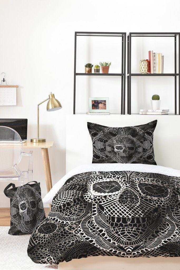 Ali Gulec Lace Skull Bed In A Bag | DENY Designs Home Accessories