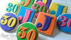 30th Birthday: Turning 30, Birthday Cookies, 30 Baby, 30Th Ideas, 30Th Birthdays, 30Th Birthday Favors, Party Ideas, 30 Years, Birthday Ideas