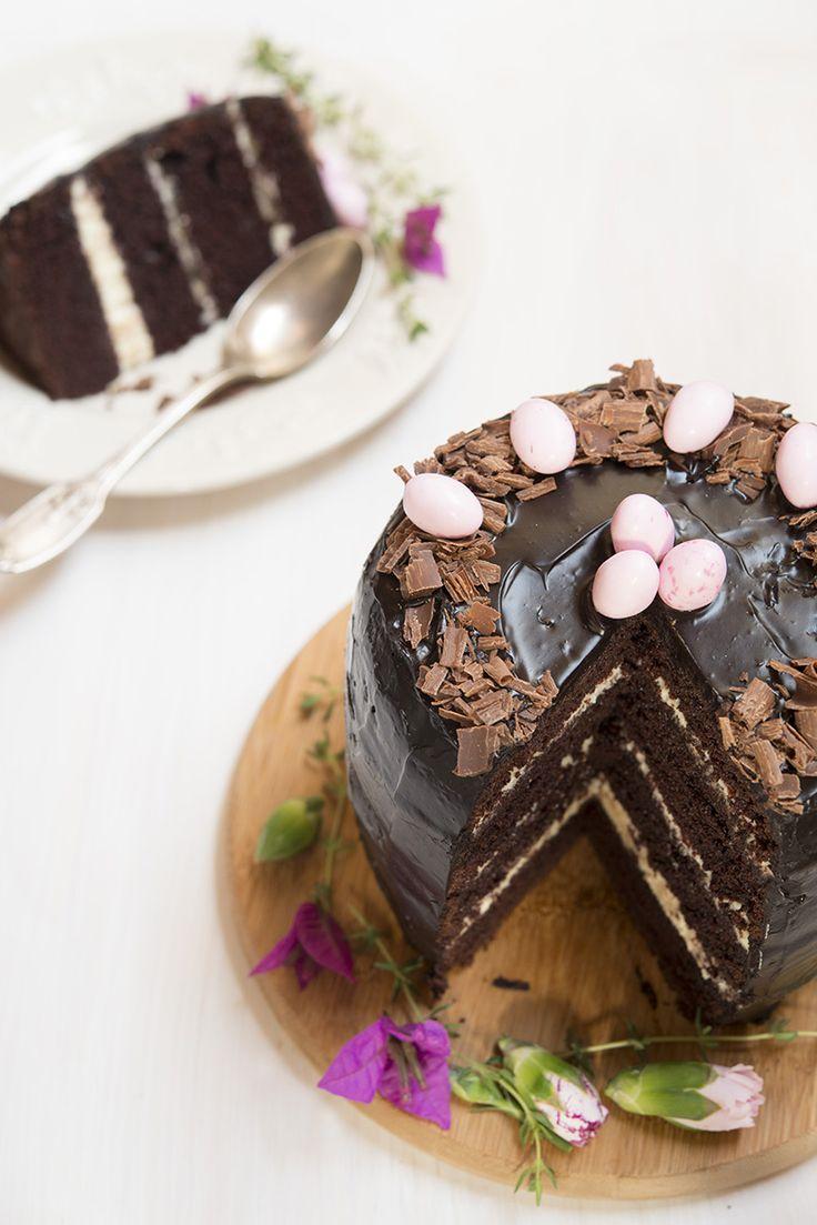 Gâteau aux trois chocolats - Safran Gourmand