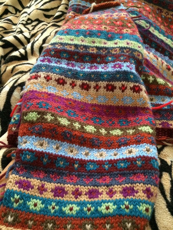 1514 best Knitting Stricken images on Pinterest | Fair isle ...