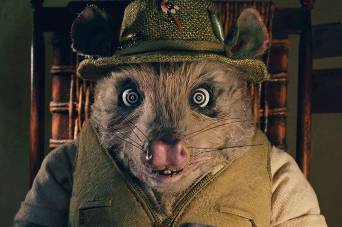 "Fantastic Mr. Fox by Wes Anderson is a movie based off Roald Dahl's children's novel, ""Fantastic Mr. Fox."""
