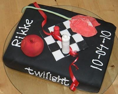 Very cool Twilight cake