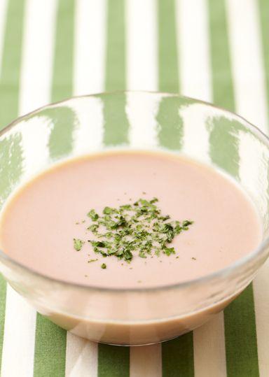 冷たいクリームトマトスープ | ABC Cooking Studio