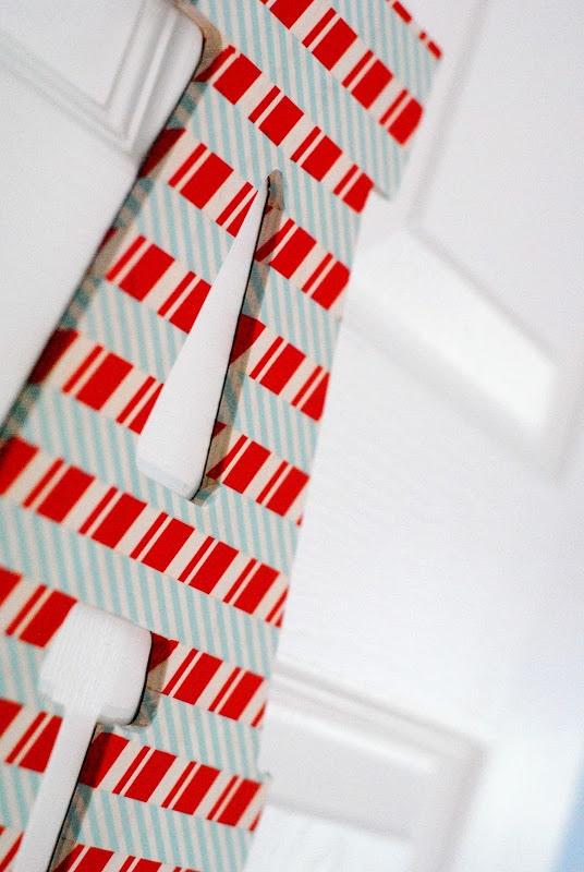 DIY Washi Tape Letters Kids Craft Idea
