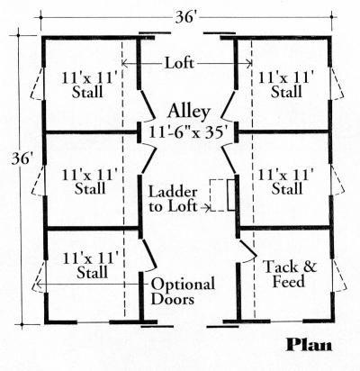 Barn Plans With Loft