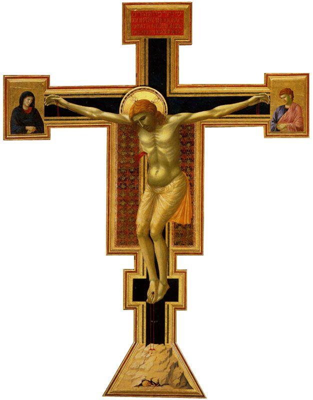 распятие христа джотто картинки знаменитых личностей видели
