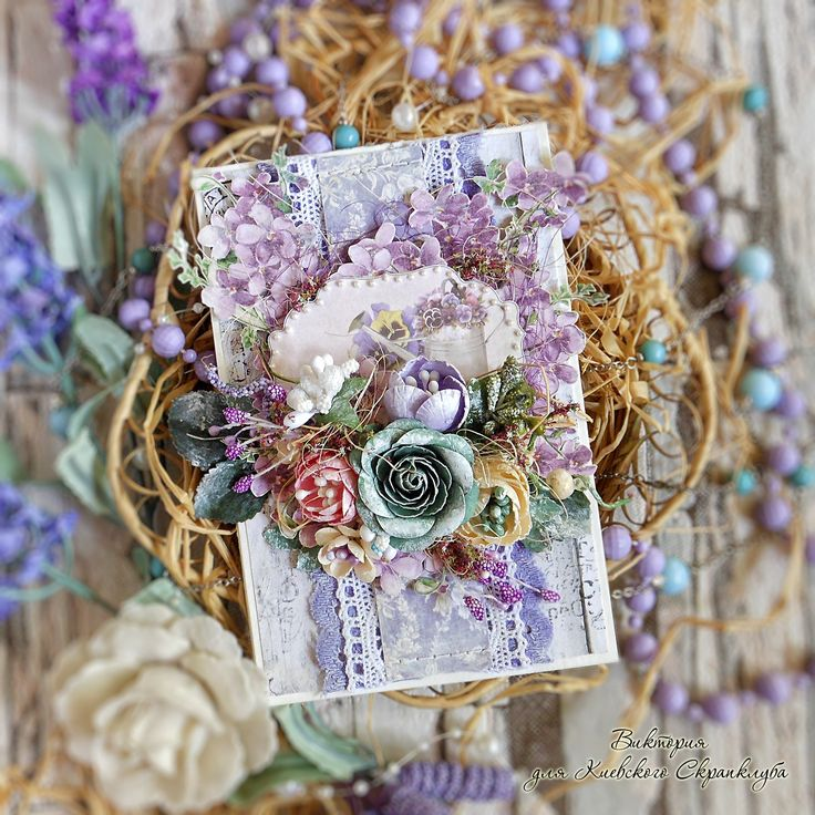 """Over a cup of tea: Provence card / postcard-style """"Provence"""""""