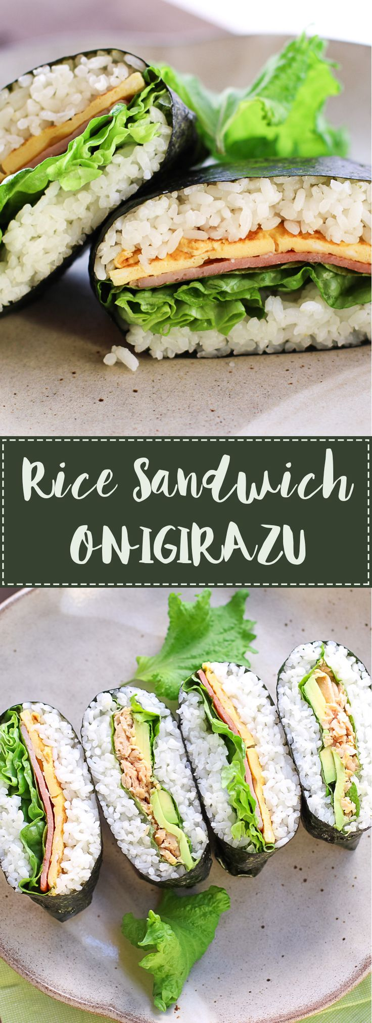 BLT Rice Sandwich-Onigirazu | WATCH for more ideas: https://www.youtube.com/watch?v=5kEd3vDtKNw