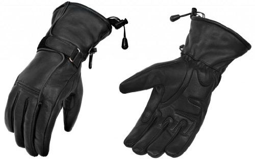 Special Offers - TRUE Element Womens Motorcycle Leather Gauntlet Glove with Water Resistant Insert (Black S-2XL) - In stock & Free Shipping. You can save more money! Check It (July 23 2016 at 09:12AM) >> http://motorcyclejacketusa.net/true-element-womens-motorcycle-leather-gauntlet-glove-with-water-resistant-insert-black-s-2xl/
