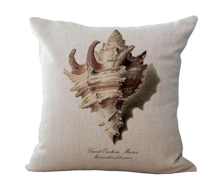 Ручная роспись океан серии коралловые морские звезды гиппокамп раковины картины хлопок подушки домашнего декора талии подушки купить на AliExpress