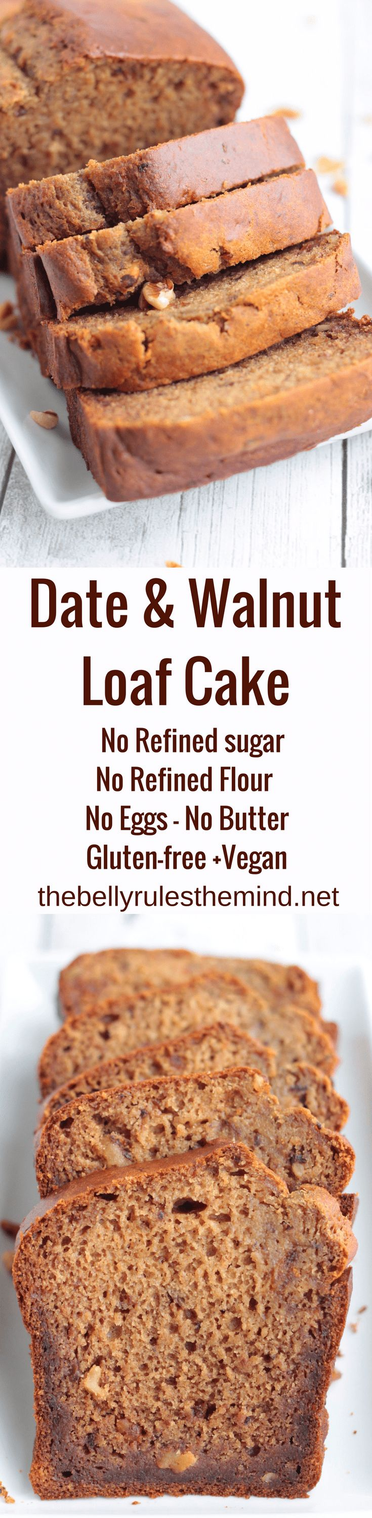 Date and Walnut -Go nuts this holiday season with Dates & Walnut loaf Cake. This cake is super delicious, soft and moist cake that is a perfect tea time snack and is worth a try.@bellyrulesdmind