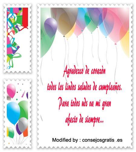 mensajes de texto de agradecimiento de cumpleaños para facebook, mensajes de agradecimiento de cumpleaños para amigos de facebook,como agradecer a mis amigos por saludos de cumpleaños,descargar mensajes de agradecimiento de cumpleaños para enviar,mensajes bonitos de agradecimiento de cumpleaños