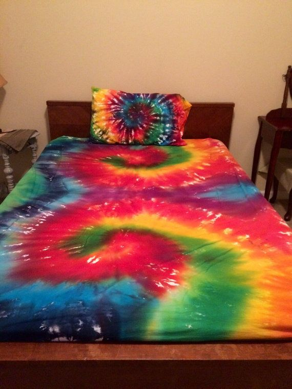 Tie-Dye Bed Sheet Sets TWIN/TWIN XL by COMScreations on Etsy