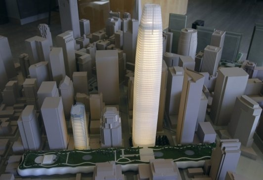 The Transbay Tower arrives, in 22-inch form | Urban Landscapes – John King | an SFGate.com blog