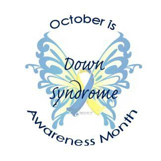 National Down Syndrome Awareness Month is in October ~ the same month as National School Spirit Day!!