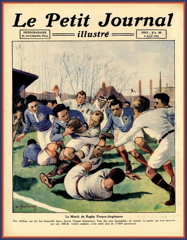 Rugby Cup Final France V England 1921 Poster Print. by BloominLuvly on Etsy https://www.etsy.com/listing/259688776/rugby-cup-final-france-v-england-1921