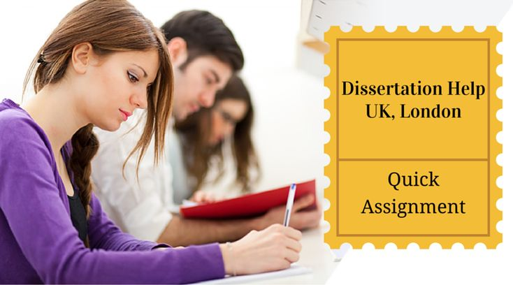 Get help writing a dissertation london