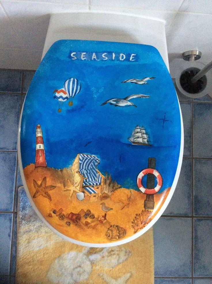 WC-Deckel Bad