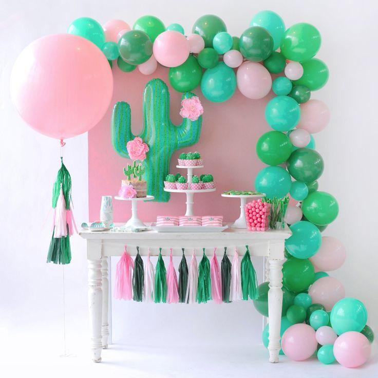 Cactus Bloom Balloon Garland Kit