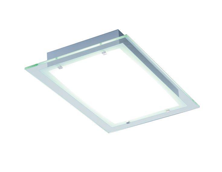 Flush Fluorescent Kitchen Ceiling Lights