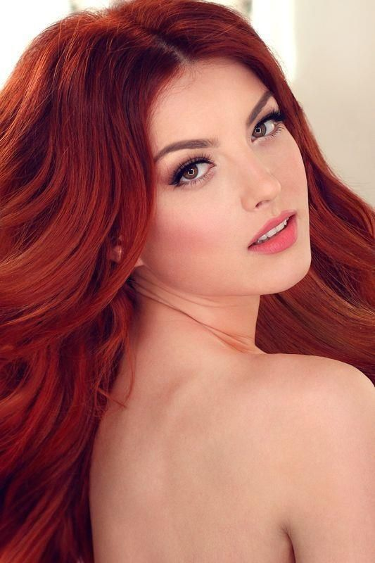 Beautiful Redhead Girl ➳❤  ⊱ℳℬ⊰