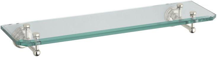 Pinstripe 24″ x 3.38″ Bathroom Shelf  – Bathroom Shelves Decor – #bathroom #déc…  – most beautiful shelves