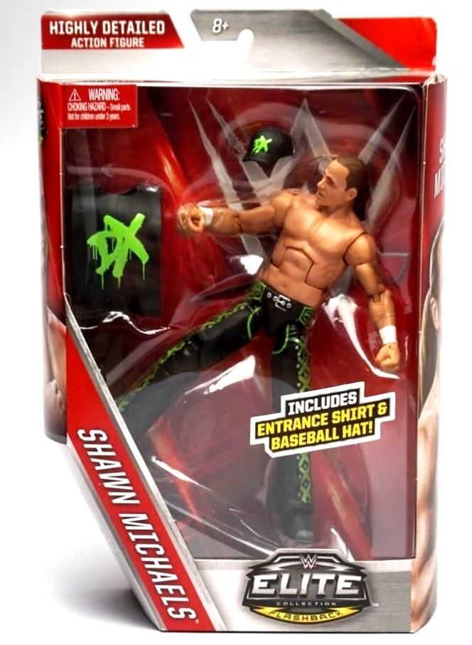 WWE DX Shawn Michaels HBK Mattel Walgreens exclusive Wrestling Action Figure #Mattel