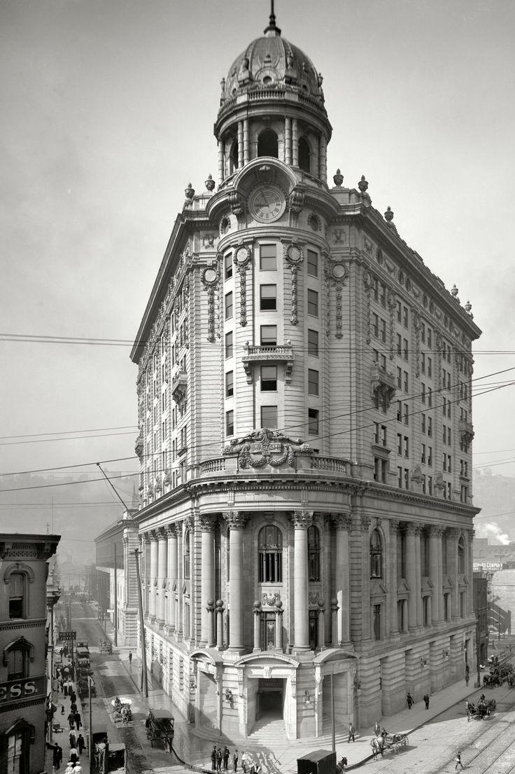 Wabash Station (detail), Pittsburgh, Pennsylvania, ca. 1905