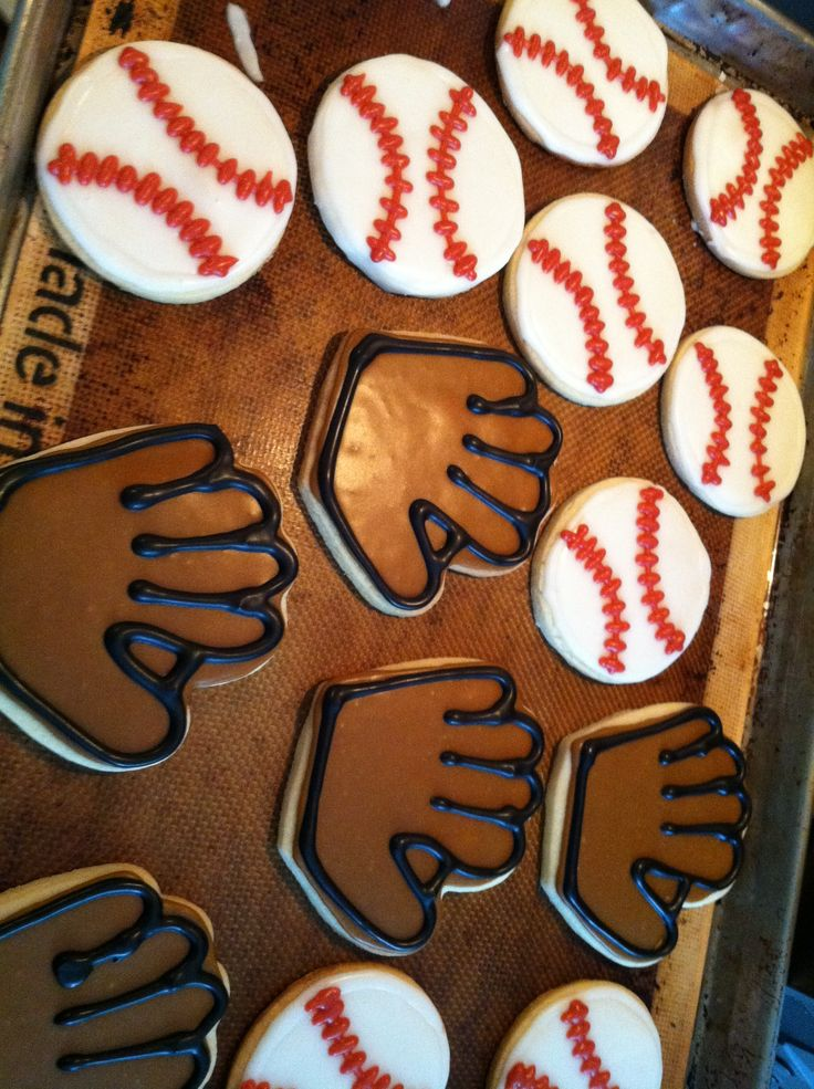 The perfect snack for any baseball activities. #dessert #baking
