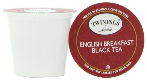 Twinings English Breakfast Tea, K-Cup Portion Pack for Keurig K-Cup Brewers, 24-Count (Pack of 2) - http://hotcoffeepods.com/twinings-english-breakfast-tea-k-cup-portion-pack-for-keurig-k-cup-brewers-24-count-pack-of-2/