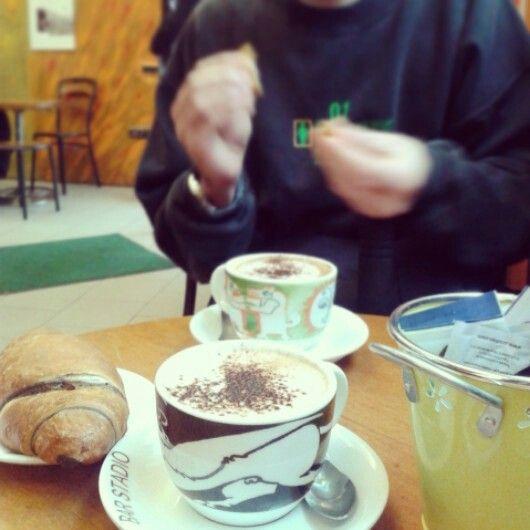 Cappuccino e brioche