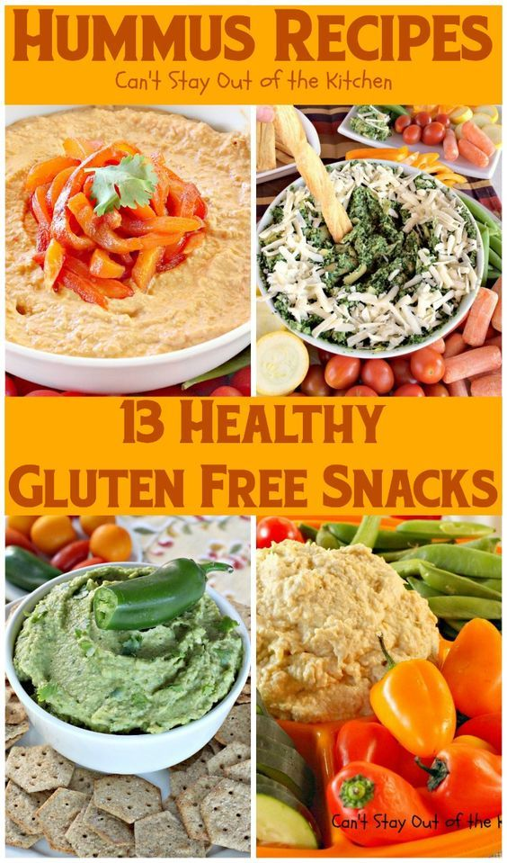 Hummus Recipes. 13 healthy low calorie