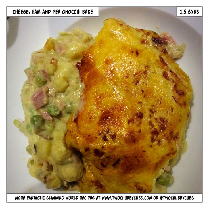 a wonderful, very low-syn cheese packed gnocchi bake which is perfect for a Slimming World supper