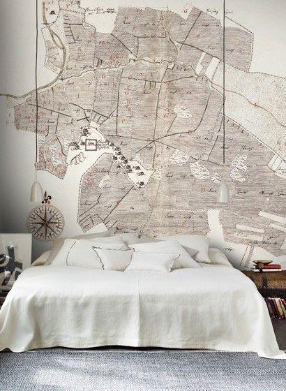 Mustertapeten Richtig Tapezieren : von Sandberg #skandinavisch #design #tapezieren #vintage #schlafzimmer