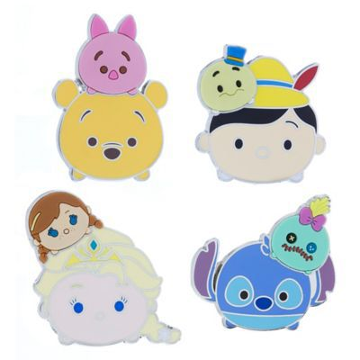 """Tsum Tsum"" Pin Set 
