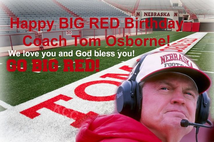 Happy Birthday, Coach Osborne! TicketExpress.com now has tickets available for all Husker home games of 2016!