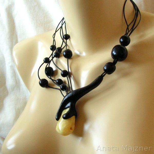 Amber and Wood - 2525 by AmberSculpture.deviantart.com on @deviantART