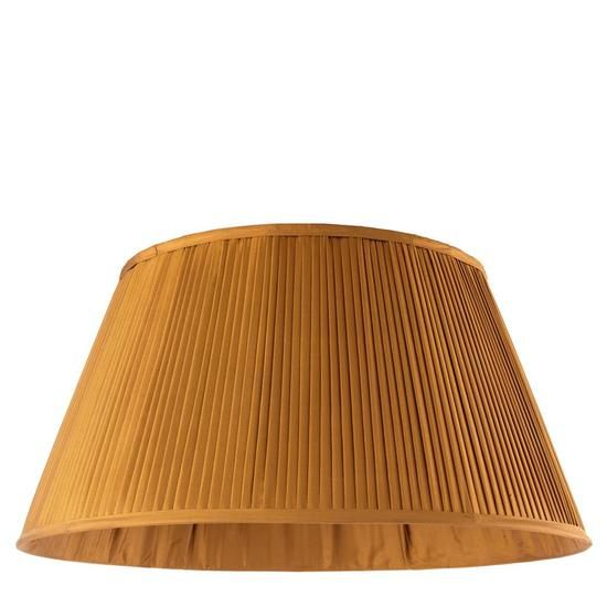 Pleated empire shade | Eichholtz Bouilotte - Antique Gold - Extra Large Treniq Table Lamps. View thousands of luxury interior products on www.treniq.com