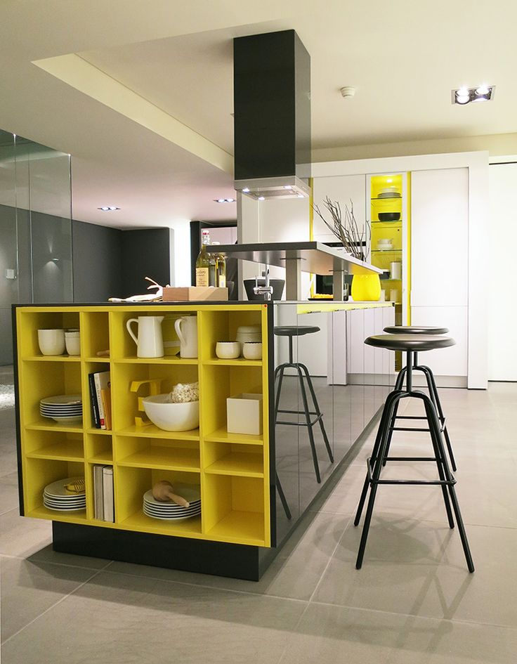 Yellow Needs Some Love | Design Build Ideas Bancada Com Nichos Amarelos Part 46