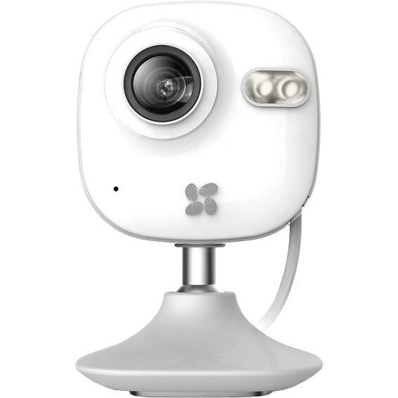 C2 mini indoor  C2 mini is er niet alleen voor jouw veiligheid. Je kan kijken en luisteren naar jouw trouwe viervoeters het huis en omgeving bekijken en je voelt zich dichter bij jouw dierbaren. Het kleine formaat moderne vormen en plezier zijn het resultaat van Ezviz technologie. Met behulp van de magnetische voet kan je de C2 Mini overal plaatsen. Daarnaast heeft de C2 mini IR-verlichting tot 10m waardoor je zelfs 's nachts haarscherpe beelden hebt.  EUR 99.00  Meer informatie
