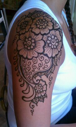Maybe get this done for my official Moroccan Henna tattoo