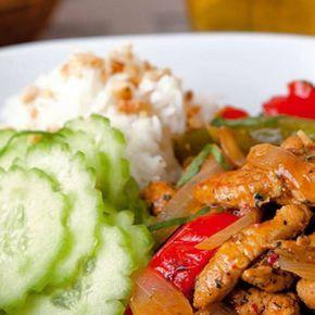 Thaikyckling med Panang Curry