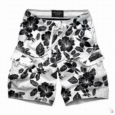 You can never go wrong with black and white shorts.