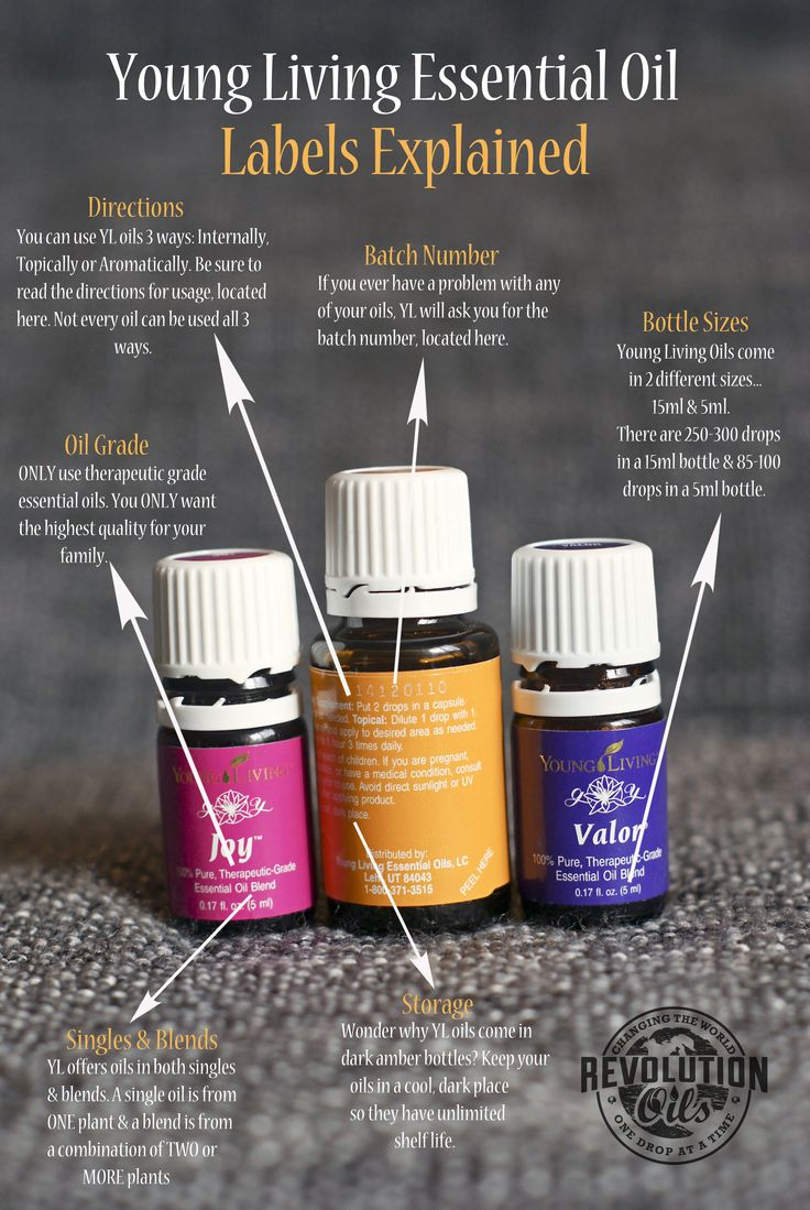 Young Living Essential Oil Labels Explained #youngliving #essentialoils