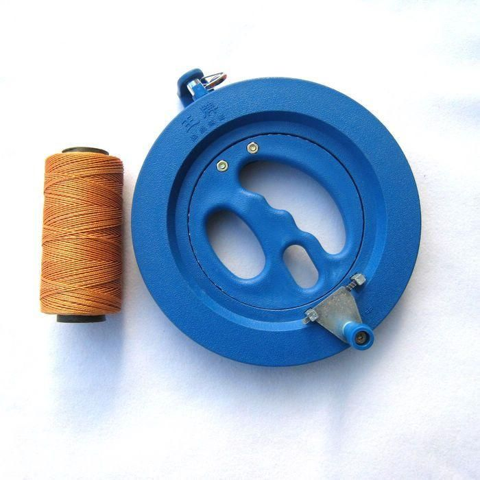 Hot Sale Big Kite Flying Traction Tools Kite Handle Wheel High Quality ABS Kite Wheel with 150m Flying Lines