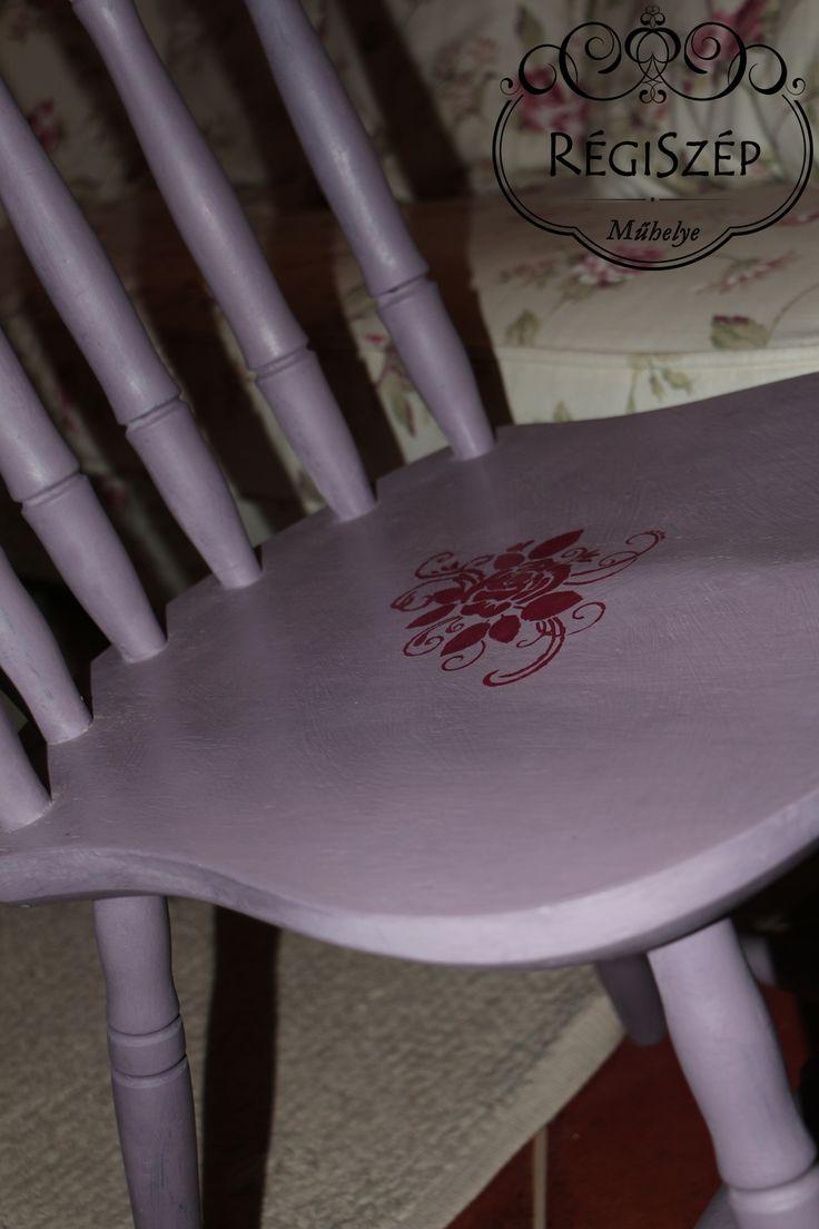 Végre egy bútor, amit tényleg csak festeni kellett!!! Annie Sloan Chalk Paint - Emile és Burgundy